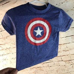 Marvel Captain America Toddler Tee